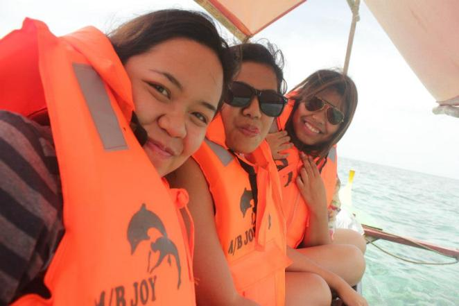 Boat ride from Mauban to Cagbalete island