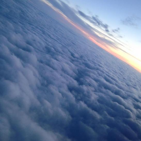 Sea of clouds. YEG-YYZ